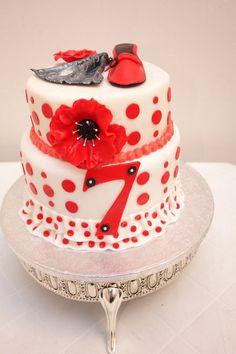 Flamenco Cake - by CasaCakes @ CakesDecor.com - cake decorating website