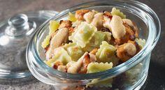 Recette de ravioles croustillantes au poulet tandoori