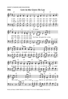 CHRIST AROSE - Hymnary.org
