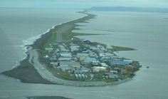 Global warming that leads to rising sea levels will cause this Alaskan island to be completely submerged by 2025. The villagers of Kivalina will have to relocate before then, despite the extreme expense and difficulty. It takes three flights to reach the island. ArtPlace America recently granted them $500,000 toward relocation, but the larger problem is still at hand with little acknowledgment from the government and an ignored court case suing fossil fuel companies.