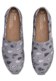 Featuring a bold weather pattern, these slip-ons will spice up your ensemble, rain or shine.