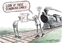Best climate change cartoons:   Look at these scandalous emails!