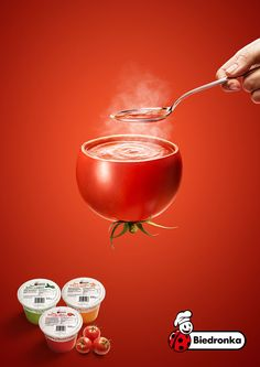 Amazing Creative Advertising from Biedronka Creative Advertising, Food Advertising, Ads Creative, Creative Posters, Advertising Poster, Advertising Campaign, Advertising Design, Product Advertising, Food Graphic Design