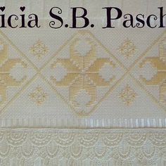 Patricia S. Bargello, Filet Crochet, Quilting, Videos, Instagram Posts, Toilet Paper Art, Hand Embroidery Patterns, Pure Beauty, Railings