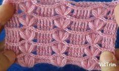 Dear ladies, you can learn crochet lady& vest or baby blanket ., Dear ladies, I share the peanut-filled knitting model where you can crochet lady& vest or baby blanket. You can sample very elegant ladies& v. Crochet Headband Pattern, Crochet Motif, Knit Crochet, Crochet Hairband, Crochet Stitches Patterns, Stitch Patterns, Knitting Patterns, Crochet Jacket, Learn To Crochet