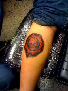 gears of war tattoo | Gaming Tattoos | Pinterest | War tattoo ...
