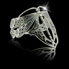 Zilveren Armband Libel