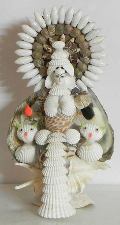 Goddess Lakshmi (Shell)
