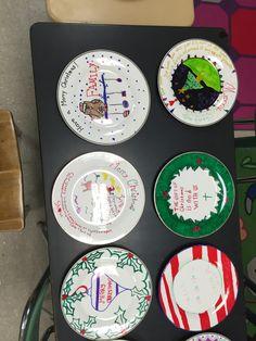 christmas plates - Christmas Plates