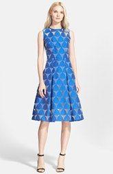 Milly 'Prism' Fil Coupé A-Line Dress