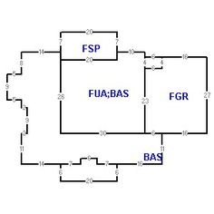 Building layout (traversing data) of this property