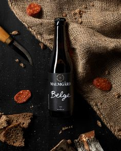 Malmgård Brewery on Behance Beer Brewing Kits, Beer Brewery, Beer Bar, Home Brewing, Beer Shot, Wine Photography, Beer Packaging, Brand Packaging, Wine Bottle Crafts
