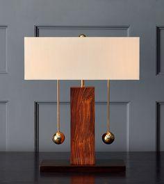 Brass Ball Series, Two-Way Table Lamp – Blackman Cruz