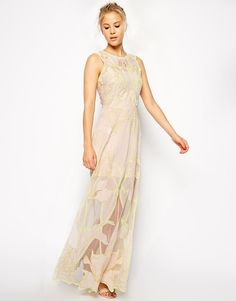 ASOS | ASOS Premium Nouveau Maxi Dress at ASOS