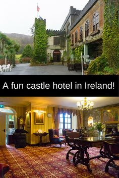 This castle hotel in County Galway, Ireland pairs luxury with quirky fun!