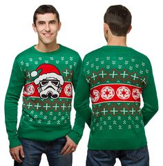 And if you've been bad enough, maybe Vader will take you on as his apprentice. Star Wars Christmas Sweater, Birthday Star, Geek Gear, Geek Fashion, Christmas Jumpers, Star Wars Party, Ugly Sweater, Christmas Sweaters, Geek Stuff