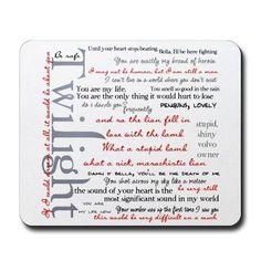 Favorite Twilight quotes