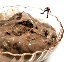 Happy National Chocolate Ice Cream Day! You know you want to dive right in... and trust me, as quickly as it was melting, you'd be able to swim in it soon enough!