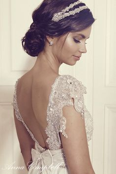 Anna Campbell Wedding Dress Collection | Bridal Musings Wedding Blog 13