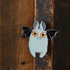 Fat Bat Enameled Lapel Pin – Bindlewood Shop