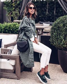 New post on #VivaLuxury / @m2malletier bag via @netaporter & @nsfclothing jacket click on profile link for complete #ootd details