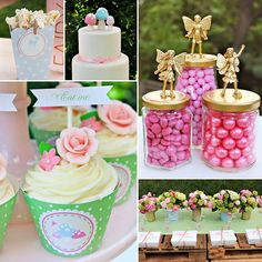 A GIRLY Woodland Party {Mushroom & Fairy Inspired} with lots of sparkly gold glitter & cute forest creatures by Jenny Raulli of Bloom Designs Online! #Fairy #Party http://hwtm.me/11zPzqF