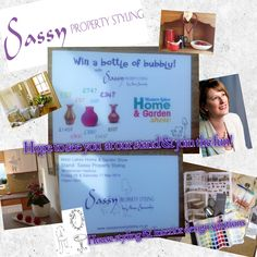 Come join us.. If you love homes and gardens .in the West Lakes on 16th & 17th May 14 at Whitehaven Cumbria .hope to see you at our Sassy stand www.sassypropertystyling.co.uk