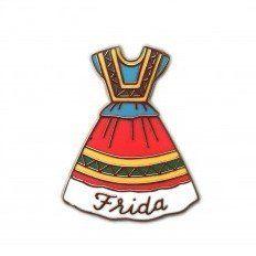 'Frida Dress' Pin