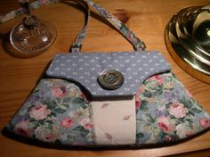 """Smaller version of """"Home Guard"""" Clutch! by Charlie's Aunt @ sew-whats-new.com  http://etsy.me/N51Kmb"""
