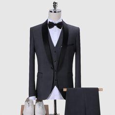 Blue Tuxedo Jacket, Tuxedo Suit, Tuxedo For Men, Mens 3 Piece Suits, Mens Suits, Suit Men, Prom Blazers, Burgundy Suit, Prom Tuxedo