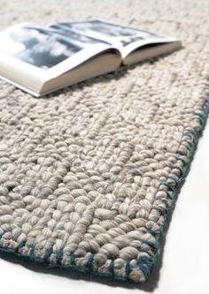 Tresse Rug - / 170 x 240 cm - Hand woven Natural by Toulemonde Bochart / £774.00