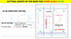 In this article you can know how to calculate steel quantity for slab manually. which you can apply in excel Civil Engineering Software, Civil Engineering Books, Civil Engineering Design, Framing Construction, Civil Construction, Split Level House Plans, Steel Structure Buildings, Floor Slab, Building Design