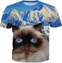 Himalayan Cat T-Shirt #erikakaisersot #rageon #tshirt #cats
