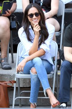 style files: Meghan Markle | get her chicest looks for less | #theeverygirl