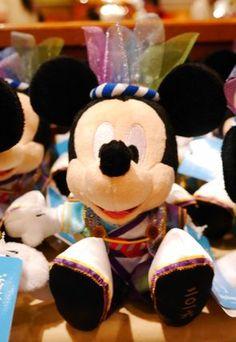 ディズニー 夏祭り 2016 彩涼華舞 ぬいぐるみ ミッキー TDL