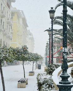 Aristotelous Square was extremely beautiful during the last few days, under the snow! ❄⛄☁⛄❄⛄☁⛄❄ #Repost @amourbullet ・・・ White paradise ❤️ #snow #tb #thessaloniki #winter #beautiful #landscape #skg #greece #hellas #europe #instathessaloniki #picoftheday #downtown #city #wu_greece #wu_thessaloniki #ig_greece #ig_thessaloniki #street #citylife