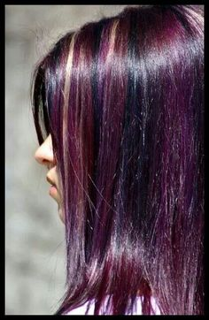Love this purple hair but I want blue!