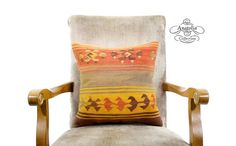 Rustic Decor Turkish Tribal Kilim Pillow by AnatoliaCollection