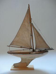 Voilier de bassin Star Yacht, années 40