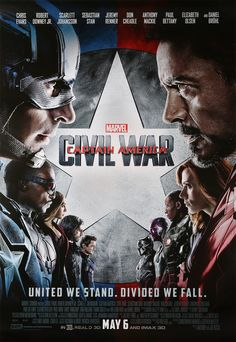 New reward: Team Cap or Team Iron-Man? Bring home the battle with this Marvel's Captain America: Civil War poster.