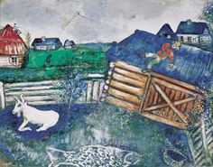 Marc Chagall, The Kite, 1926