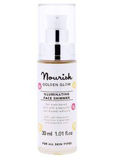 Nourish Golden Glow Illuminating Face Shimmer