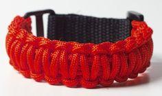 DojoBands Red Belt Martial Arts Bracelet - Martial Arts Equipment, Martial Arts Supplies, Boxing, Kung Fu, Karate, MMA, Kickboxing