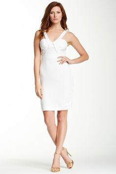 Fitted Spaghetti Strap Dress by Rubber Ducky on @HauteLook