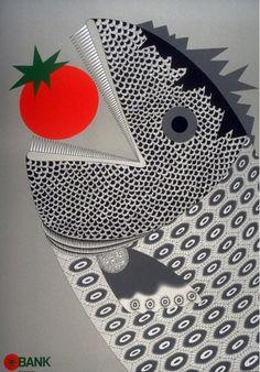 japanese design – Page 2 – Graphic Design Theory Graphic Design Posters, Graphic Prints, Gravure Illustration, Magazine Illustration, Stencil Printing, Design Theory, Japanese Poster, Philadelphia Museum Of Art, Japanese Graphic Design