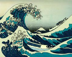 awesome Ocean Waves Drawing