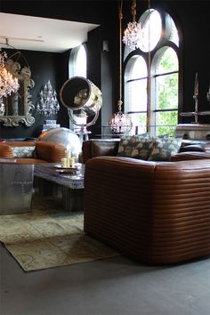 """Timothy Oulton Flagship Store via the Interiorator. """"What a furniture store should look like""""."""