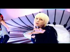 He's so cute in this one, just want to go up and grab his cheeks, both sets - G-DRAGON - BREATHE M/V