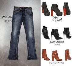Dahlia&shoes. #loveit #loveitjeans #perfectfit #denim #jeans #dahlia #shoes #heels