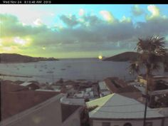 Charlotte Amalie Webcam, St. Thomas, U.S. Virgin Islands - this was last pic of our webcam that went out of service almost 3 years ago! A fitting end...